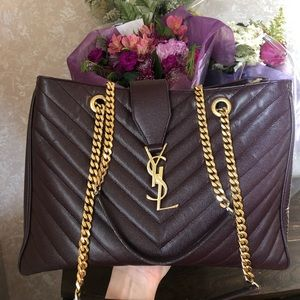 YVES SAINT LAURENT Monogramme Shopping Bag